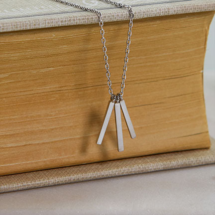 Triple Bars Necklace