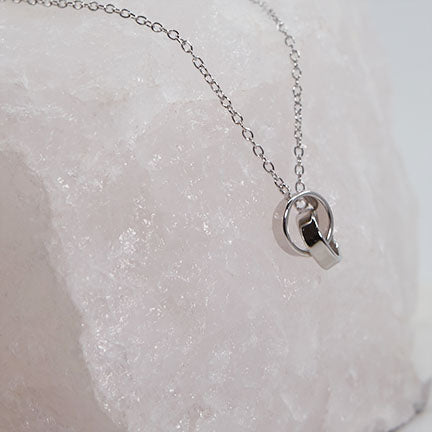 Twinflame Ring Necklace