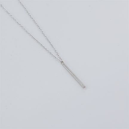 Vertical Bar String Necklace