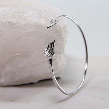 Wings Bangle Cuff