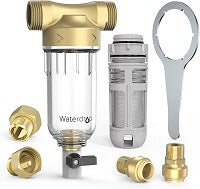 Reusable Whole House Spin Down Sediment Water Filter 50 Micron