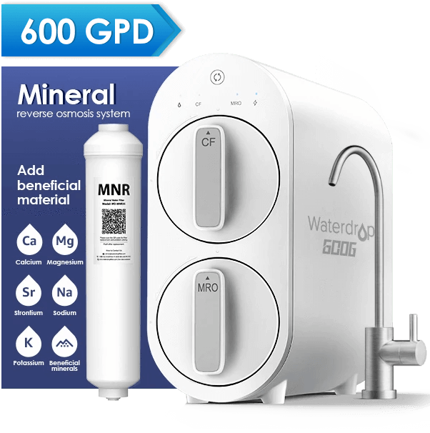 Reverse Osmosis Water Filtration System for Home