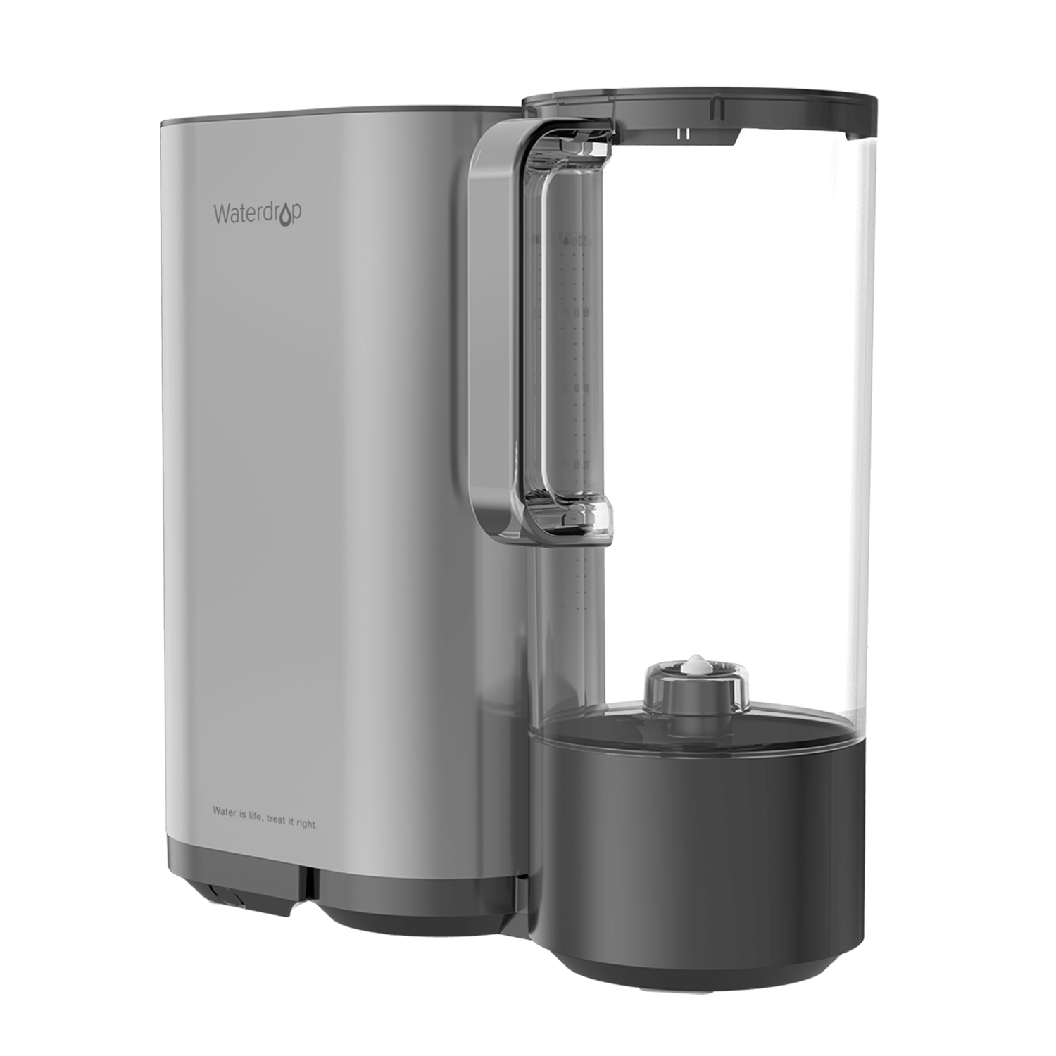 Countertop Reverse Osmosis Water Filter with Portable Water Pitcher