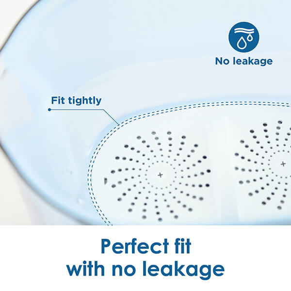 Professional multi-stage water filtration reduces most harmful elements
