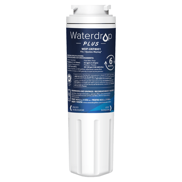 Waterdrop Replacement for EveryDrop by Whirlpool  Filter 4 Fridge Water Filter