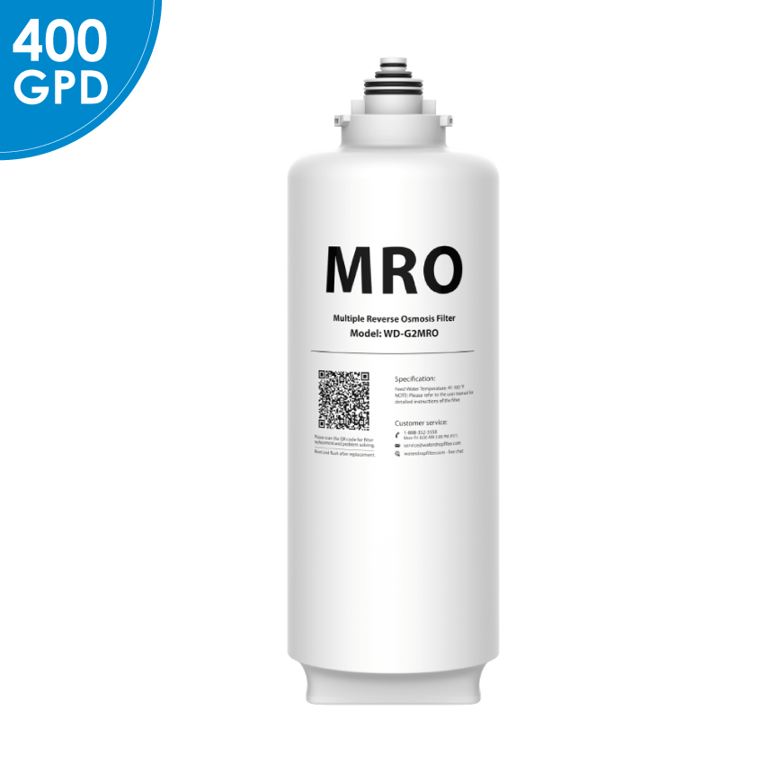 2 Years Lifetime WD-G2MRO Filter for WD-G2 Series Reverse Osmosis System (4392462614610)