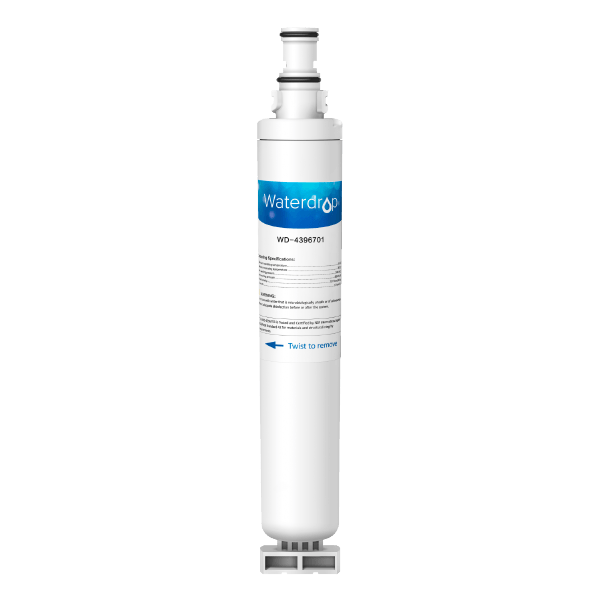 Waterdrop Replacement for Whirlpool 4396701 Refrigerator Water Filter (4390085460050)