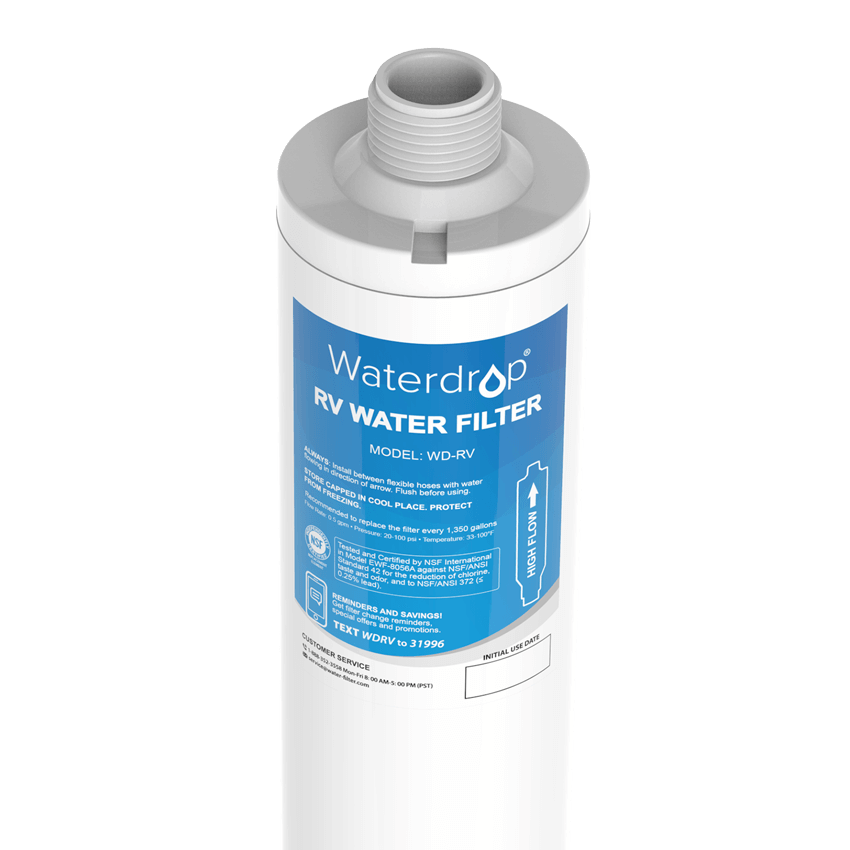 RV Water Filter | Inline Water Filter Replacement for WD-RVS Hose Water Filter