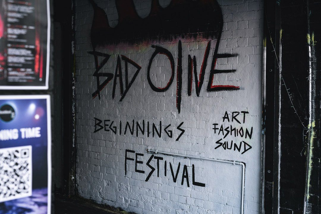 Statement at the Bad Olive- Art Fashion & Sound Festival