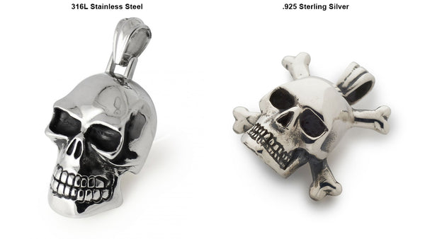 Stainless Steel vs Sterling Silver