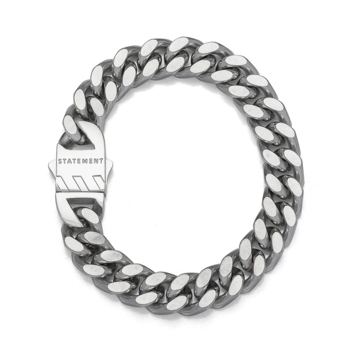 Cuban Bracelet With 11mm Cuban Links Mens Bracelet_02