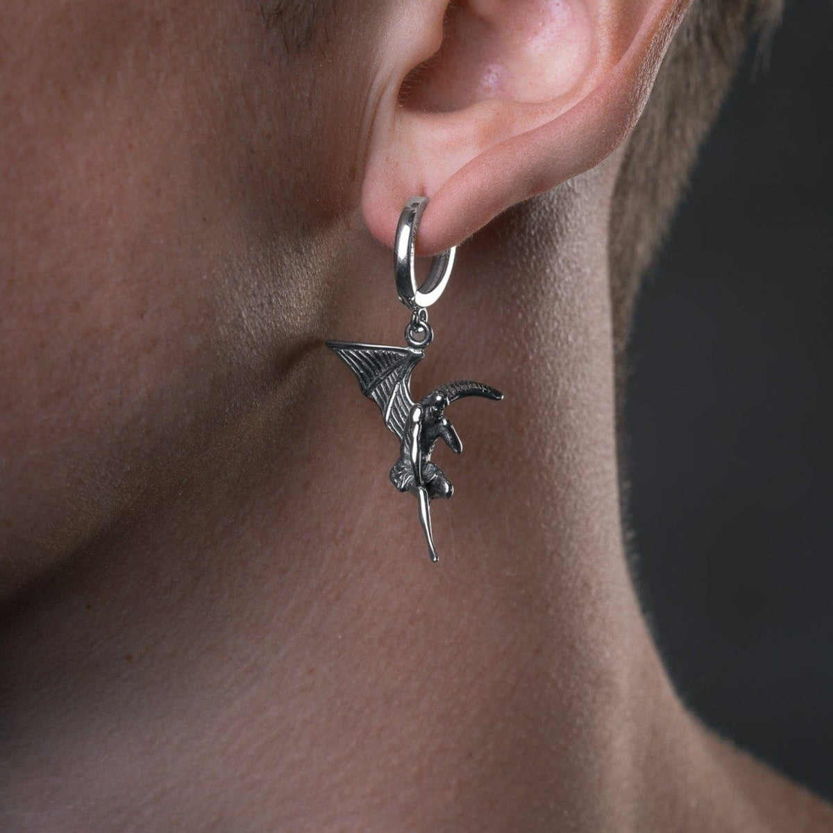 Fallen Angel Mens Earring by Statement Collective_03