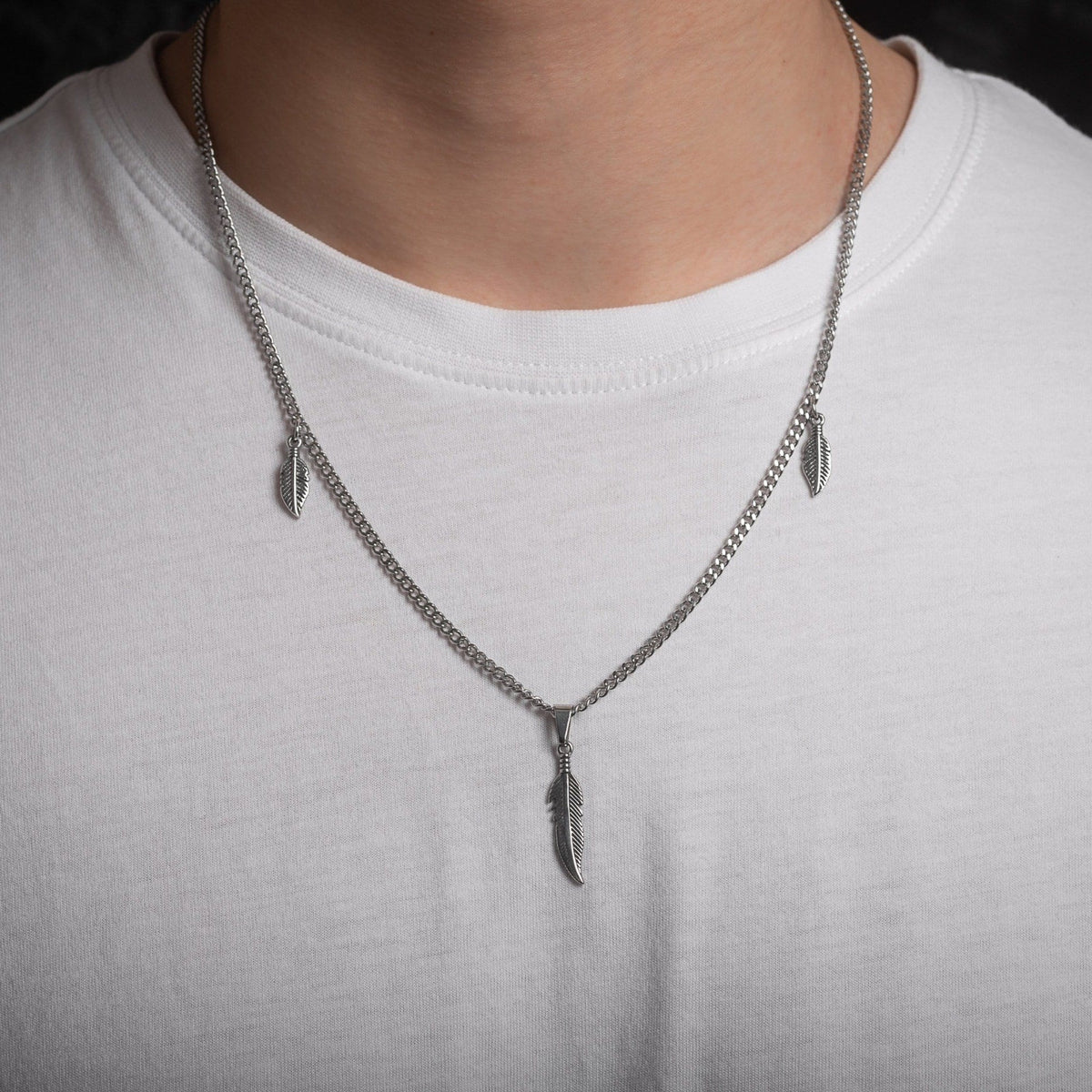Feathered Necklace 2.0 STATEMENT