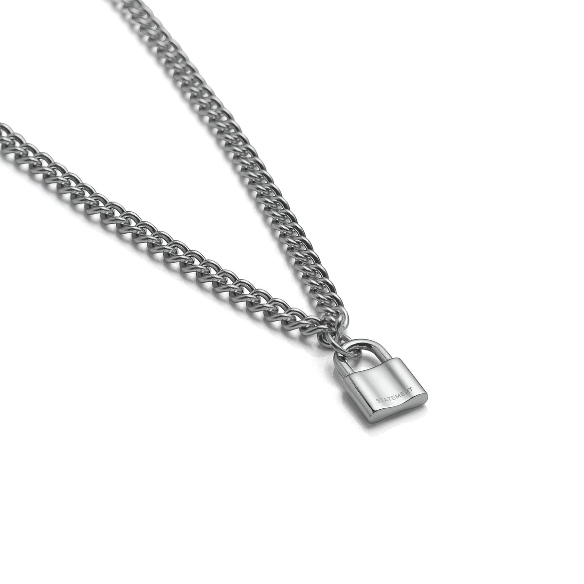 Mini Padlock Mens Necklace by Statement Collective_01