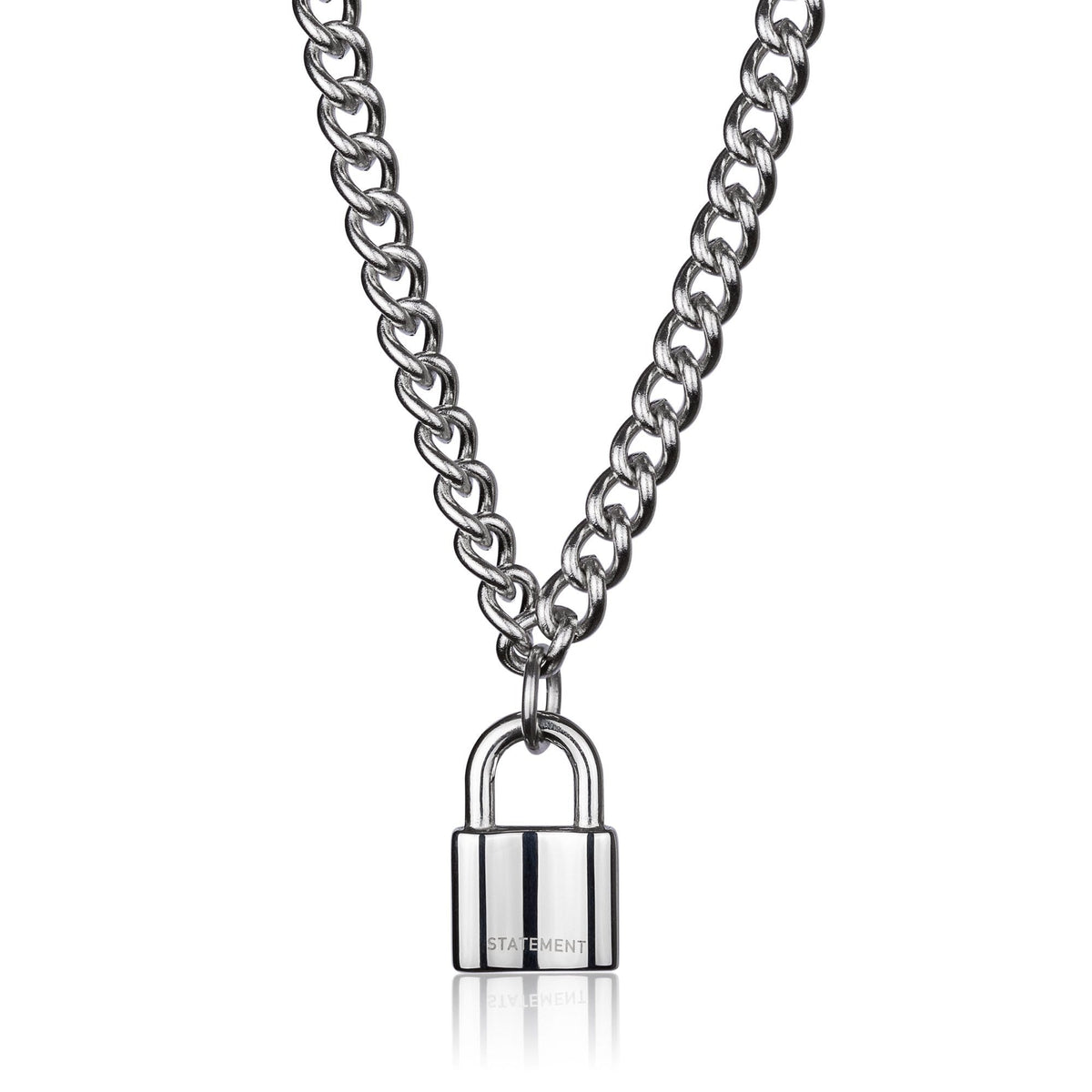 Mini Padlock Necklace - STATEMENT