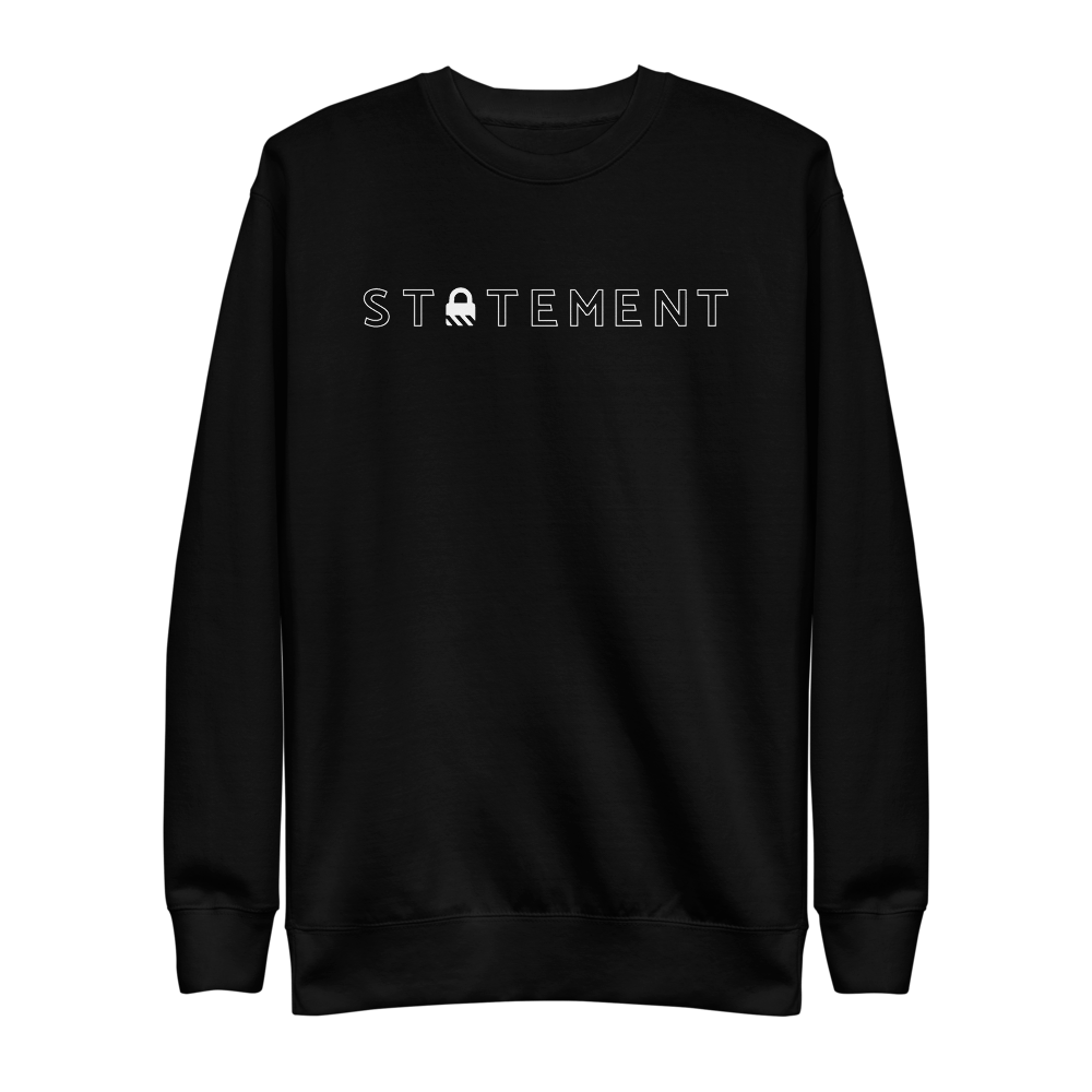Statement Basic Crewneck STATEMENT Black S