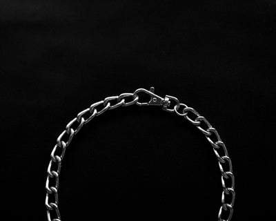 Twist Link Ring Choker #002 // Necklace PHYSICAL STATEMENT