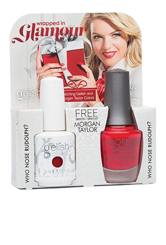 Gelish Two of a Kind 1400098 Who Nose Rudolph?