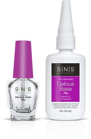 SNS Dipping Nail System Gelous Base #2 Purple 0.5 FL Oz