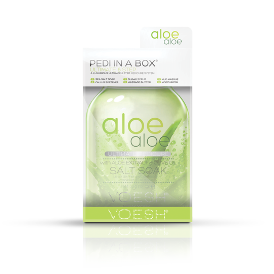 Voesh Pedi in a Box (Ultimate 6 Step) Aloe Aloe 30 Packs