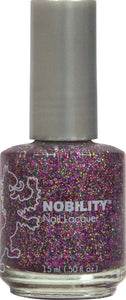 Lechat Nobility Nail Lacquer NBNL69 Ruby Red Glitz