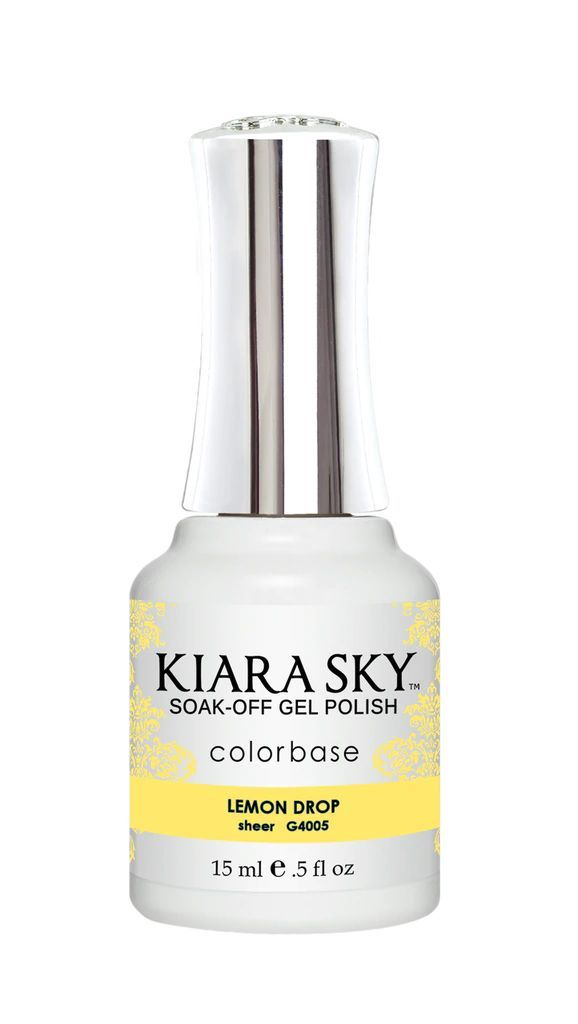 Kiarasky Nail Gel Polish 4005 Lemon Drop