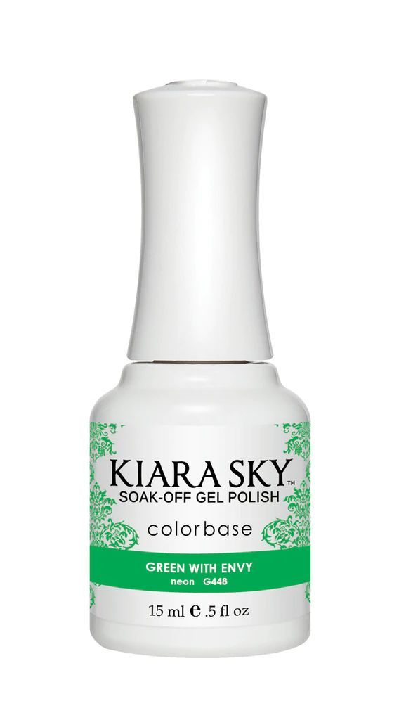 Kiarasky Nail Gel Polish 448 Green With Envy