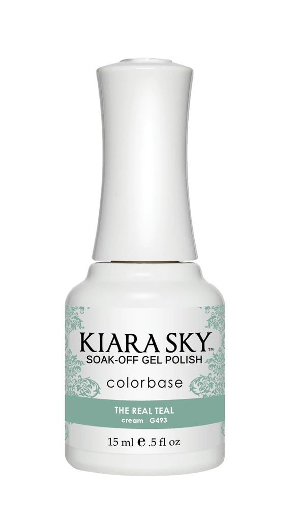 Kiarasky Nail Gel Polish 493 Real Teal