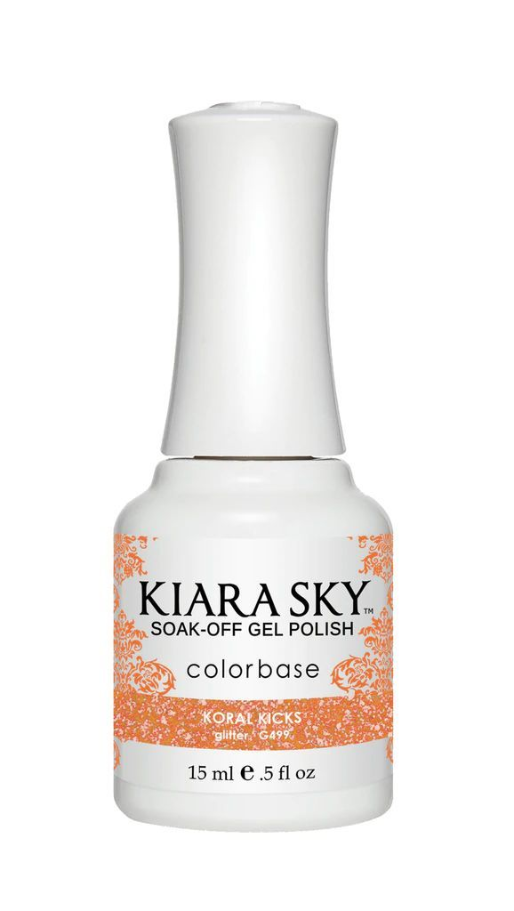 Kiarasky Nail Gel Polish 499 Koral Kicks