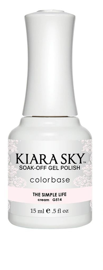 Kiarasky Nail Gel Polish 514 The Simple Life