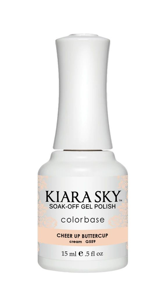 Kiarasky Gel Polish G 559 Cheer Up Buttercup
