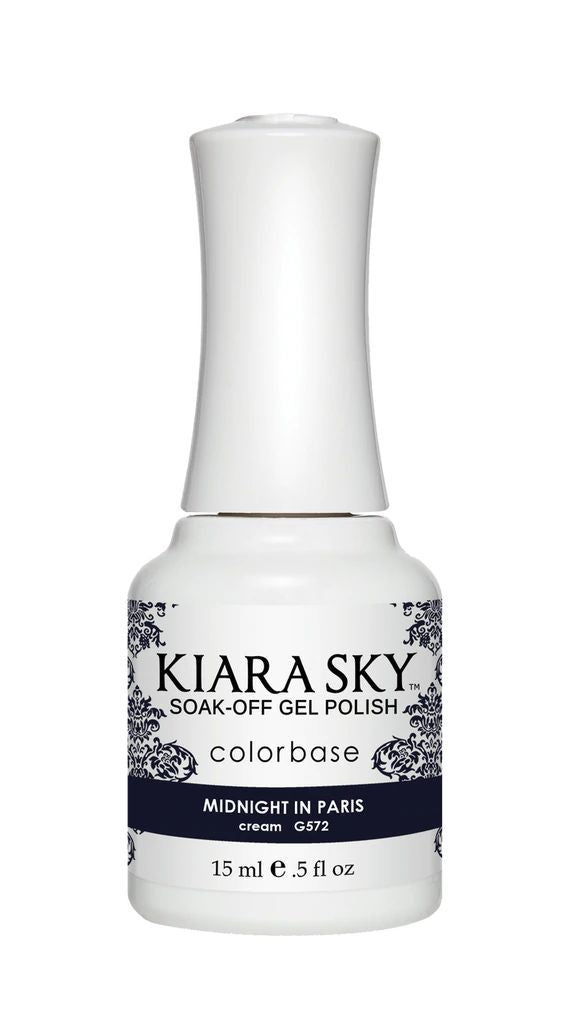 Kiarasky Nail Gel Polish 572 Midnight In Paris