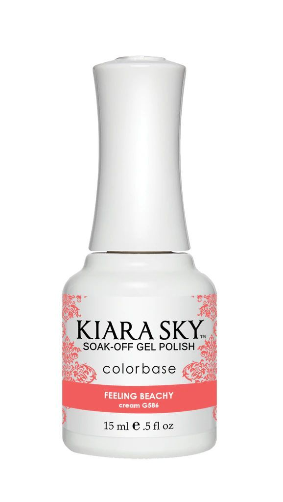Kiarasky Nail Gel Polish 586 Feeling Beachy!
