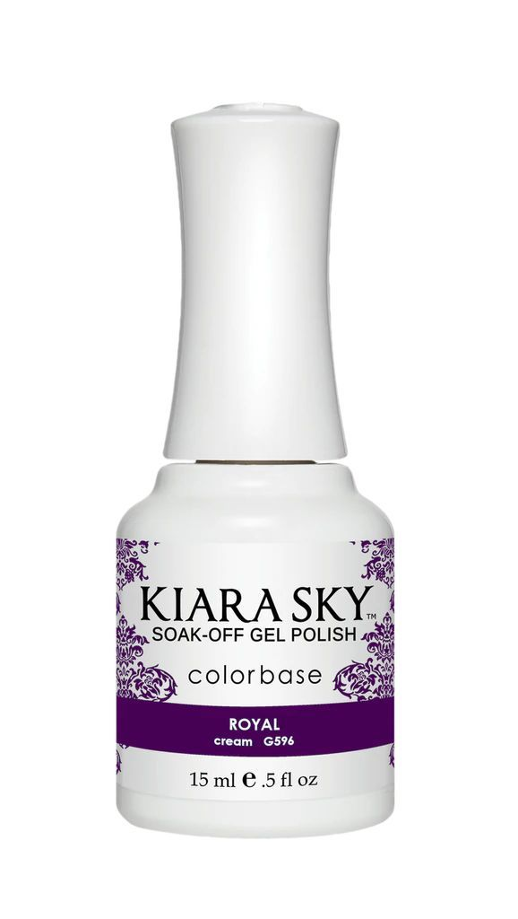 Kiarasky Nail Gel Polish 596 Royal