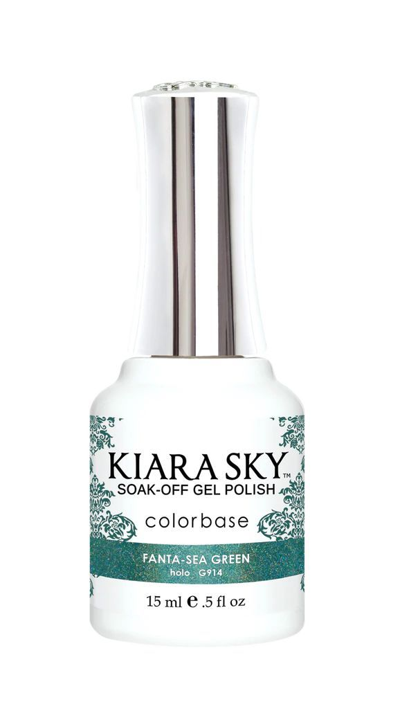 Kiarasky Nail Gel Polish 914 Fanta-Sea Green