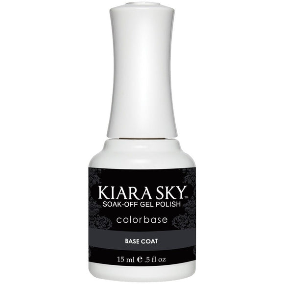 Kiara Sky Gel Base Coat 0.5FL Oz
