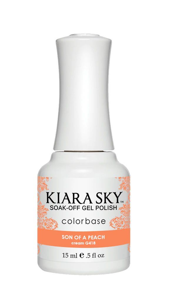 Kiarasky Nail Gel Polish 418 Son Of A Peach
