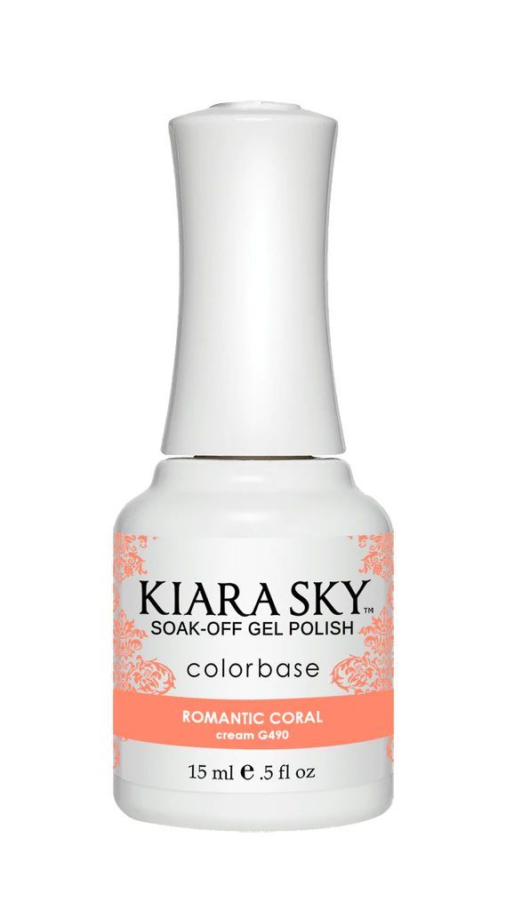 Kiarasky Nail Gel Polish 490 Romantic Coral