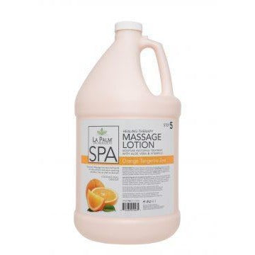 La Palm  Organic Healing Therapy Lotion (Orange & Tangerine Zest)