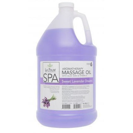 La Palm Organic Massage Oil (Sweet Lavender Dream)