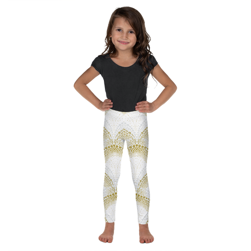 Elegant Mermaid Leggings for Girls Rash Guard Set - Periwinkle Baby