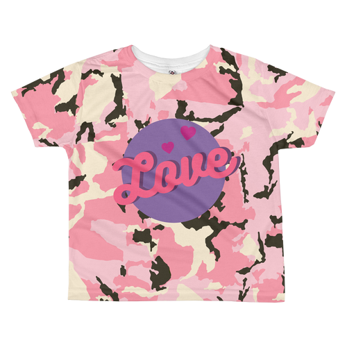 Love Toddler T-shirt - Periwinkle Baby