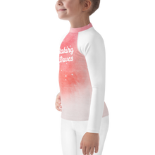 Load image into Gallery viewer, Making Waves Girls Rash Guard UPF - Periwinkle Baby