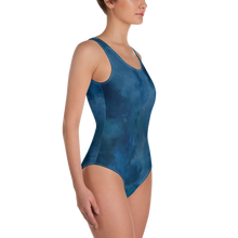 Load image into Gallery viewer, Deep Blue Shark Women Swimsuit - Periwinkle Baby