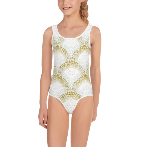 Elegant Mermaid Girls Swimsuit UPF - Periwinkle Baby