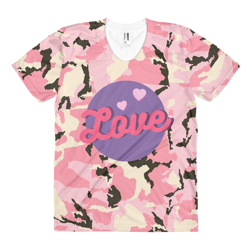 Love Mom T-shirt - Periwinkle Baby