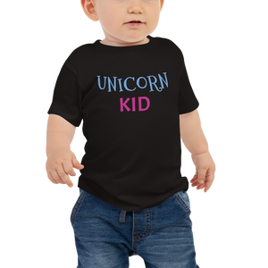 Unicorn Kid Baby Shirt - Periwinkle Baby
