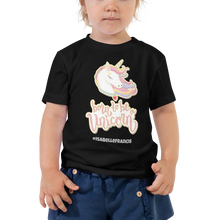 Load image into Gallery viewer, Toddler Unicorn Tshirt (Customize #name on Front and Back) - Periwinkle Baby