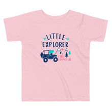 Load image into Gallery viewer, Little Explorer Toddler T-shirt - Periwinkle Baby