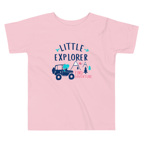 Little Explorer Toddler T-shirt - Periwinkle Baby